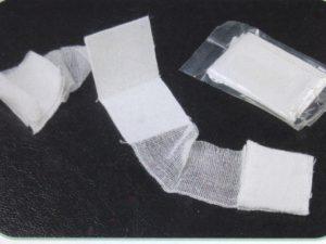 compressed dressing bandage